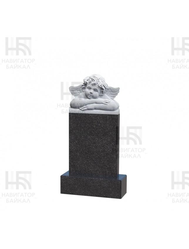 Фрезеровка на памятнике «Ангела, тип 1»