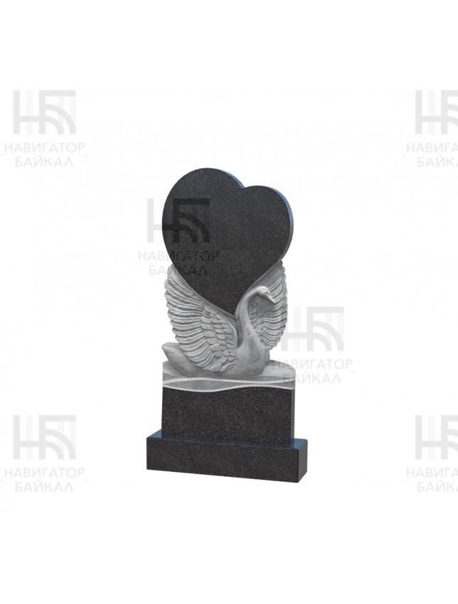 Фрезеровка на памятнике «Сердца, тип 2»